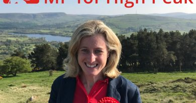 Ruth George MP: happy to engage in debates