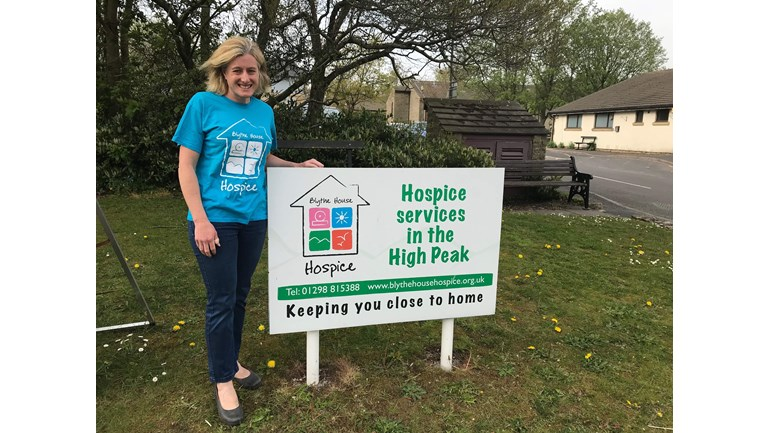 High Peak MP Ruth George takes up  Bog Commander challenge in aid of  Blythe House Hospice