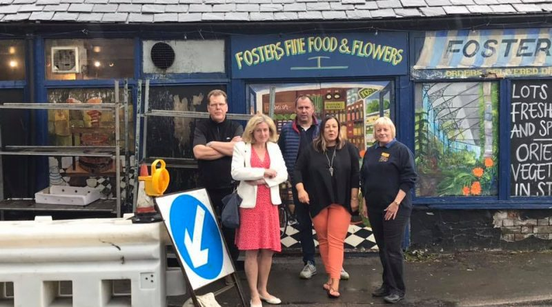 High Peak MP Ruth George calls for action over Chapel roadworks as businesses suffer